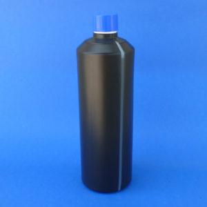 Envases negros con visor